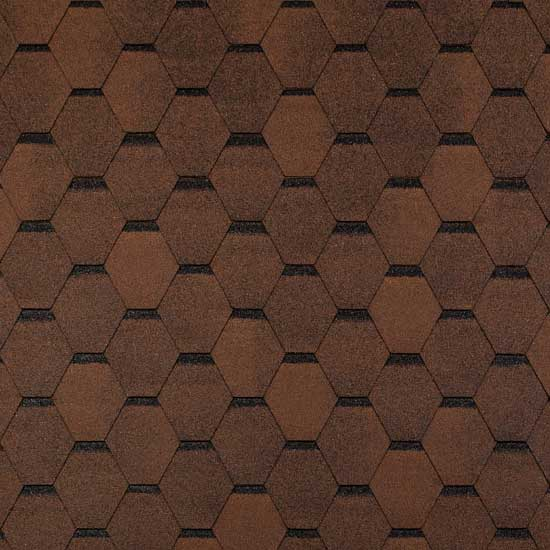 hexagonal-brown