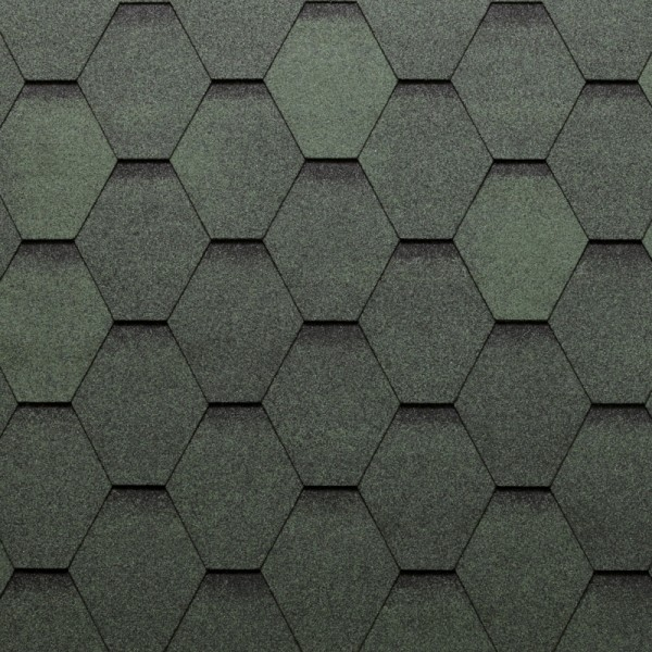 hexagonal-green